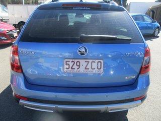 2014 Skoda Octavia NE MY15 Scout Premium DSG 132TSI Blue 6 Speed Sports Automatic Dual Clutch Wagon