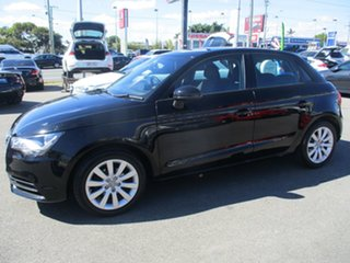 2013 Audi A1 8X MY14 Attraction Sportback Black 5 Speed Manual Hatchback