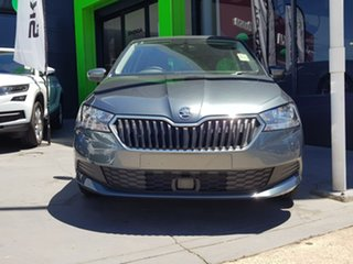 2018 Skoda Fabia NJ MY19 81TSI DSG Grey 7 Speed Sports Automatic Dual Clutch Hatchback.