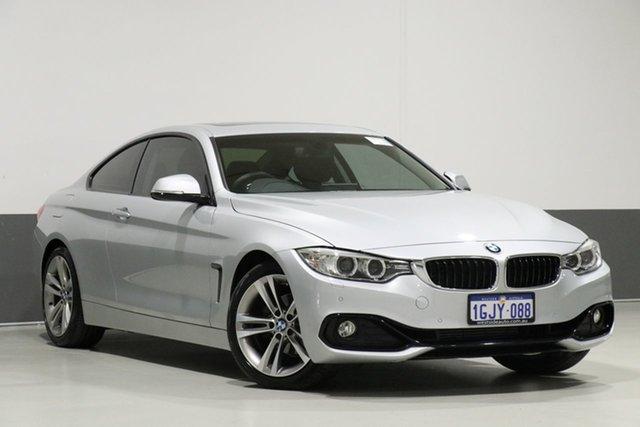 Used BMW 420i F32 MY15 Sport Line, 2016 BMW 420i F32 MY15 Sport Line Silver 8 Speed Automatic Coupe