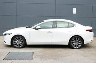 2019 Mazda 3 BP2SLA G25 SKYACTIV-Drive GT Snowflake White 6 Speed Sports Automatic Sedan