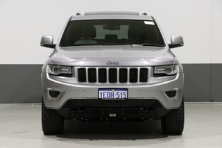 2014 Jeep Grand Cherokee WK MY14 Overland (4x4) Silver 8 Speed Automatic Wagon.