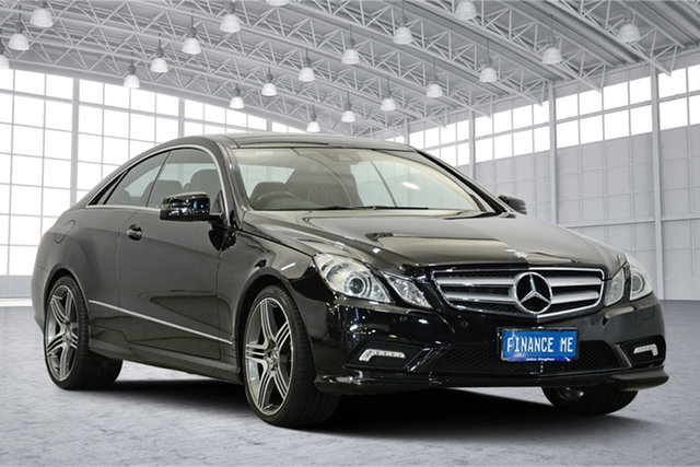 Used Mercedes-Benz E-Class C207 , 2011 Mercedes-Benz E-Class C207 Black 7 Speed Sports Automatic Coupe