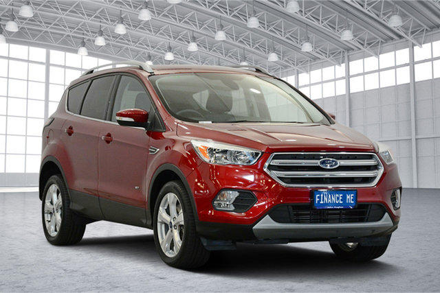 Used Ford Escape ZG Trend AWD, 2016 Ford Escape ZG Trend AWD Red 6 Speed Sports Automatic Wagon