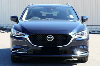 2020 Mazda 6 GL1033 GT SKYACTIV-Drive Deep Crystal Blue 6 Speed Sports Automatic Wagon