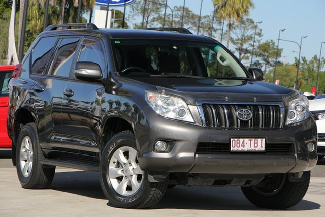 Used Toyota Landcruiser Prado KDJ150R GXL, 2013 Toyota Landcruiser Prado KDJ150R GXL Grey 5 Speed Sports Automatic Wagon