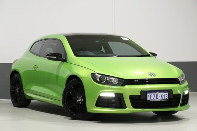 Used Volkswagen Scirocco 1S R, 2012 Volkswagen Scirocco 1S R Green 6 Speed Direct Shift Coupe