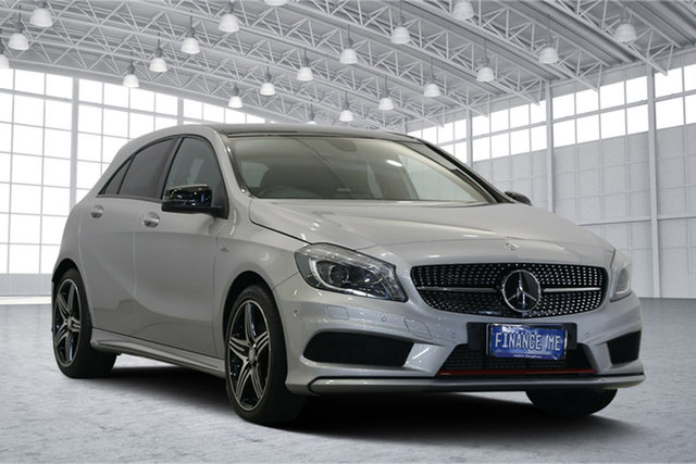 Used Mercedes-Benz A-Class W176 806MY A250 D-CT 4MATIC Sport, 2016 Mercedes-Benz A-Class W176 806MY A250 D-CT 4MATIC Sport Silver 7 Speed