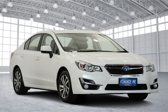 Used Subaru Impreza G4 MY16 2.0i Lineartronic AWD Premium, 2015 Subaru Impreza G4 MY16 2.0i Lineartronic AWD Premium Pearl White 6 Speed Constant Variable
