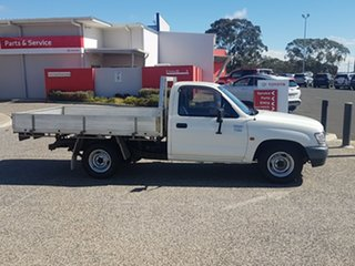 2003 Toyota Hilux RZN147R MY02 Workmate 4x2 White Solid 5 Speed Manual Cab Chassis.