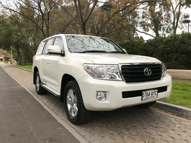 Used Toyota Landcruiser VDJ200R MY13 Altitude, 2013 Toyota Landcruiser VDJ200R MY13 Altitude Crystal Pearl 6 Speed Sports Automatic Wagon
