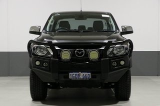 2016 Mazda BT-50 MY16 XTR (4x4) Black 6 Speed Automatic Dual Cab Utility.