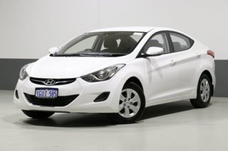 2013 Hyundai Elantra MD2 Active White 6 Speed Automatic Sedan.