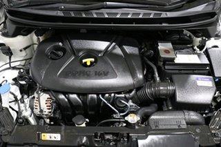 2013 Hyundai Elantra MD2 Active White 6 Speed Automatic Sedan