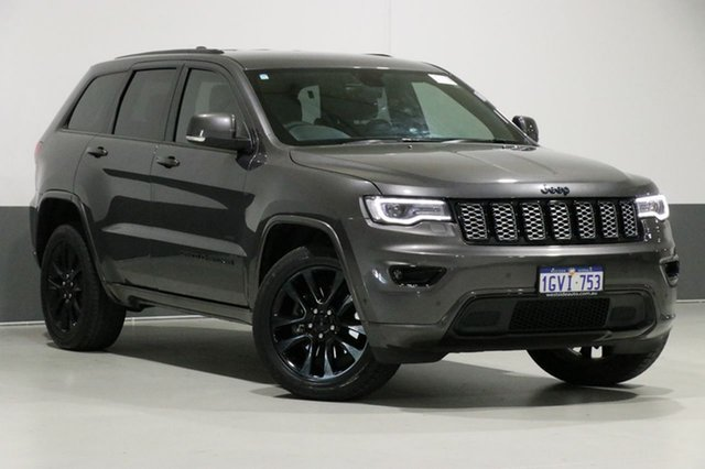 Used Jeep Grand Cherokee WK MY17 Blackhawk (4x4), 2017 Jeep Grand Cherokee WK MY17 Blackhawk (4x4) Grey 8 Speed Automatic Wagon