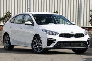2020 Kia Cerato BD MY20 Sport+ Clear White 6 Speed Sports Automatic Hatchback.