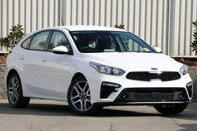 New Kia Cerato BD MY19 Sport+, 2019 Kia Cerato BD MY19 Sport+ Clear White 6 Speed Sports Automatic Hatchback