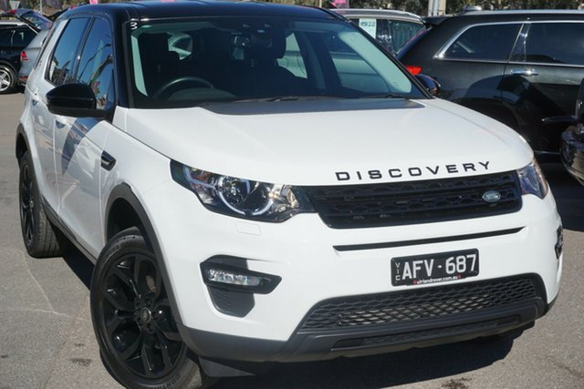 Used Land Rover Discovery Sport L550 15MY SD4 SE, 2015 Land Rover Discovery Sport L550 15MY SD4 SE White 9 Speed Sports Automatic Wagon