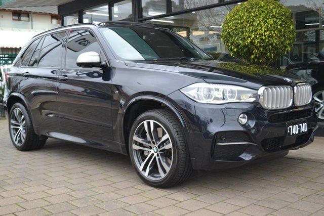 Used BMW X5 F15 M50D, 2014 BMW X5 F15 M50D Carbon Black Metallic 8 Speed Sports Automatic Wagon