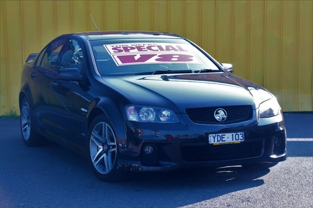 Used Holden Commodore VE II MY12 SS, 2011 Holden Commodore VE II MY12 SS Black 6 Speed Sports Automatic Sedan