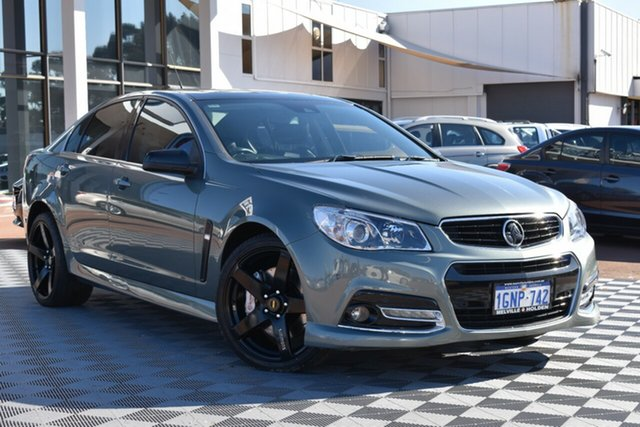 Used Holden Commodore VF MY15 SS V Redline, 2015 Holden Commodore VF MY15 SS V Redline Grey 6 Speed Sports Automatic Sedan