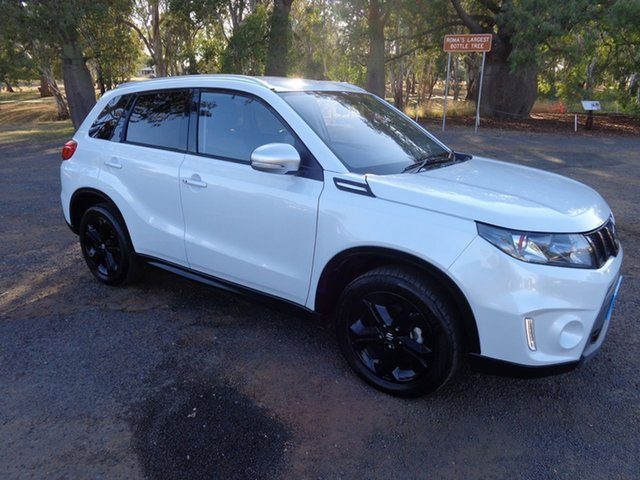 Used Suzuki Vitara LY S Turbo (4WD), 2016 Suzuki Vitara LY S Turbo (4WD) White 6 Speed Automatic Wagon