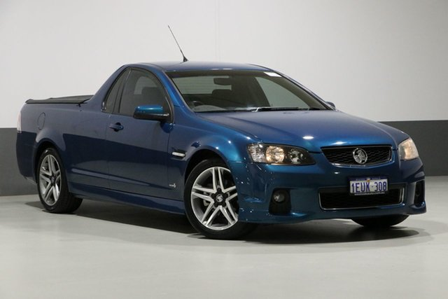 Used Holden Commodore VE II MY12 SV6, 2011 Holden Commodore VE II MY12 SV6 Chlorophyll 6 Speed Manual Utility