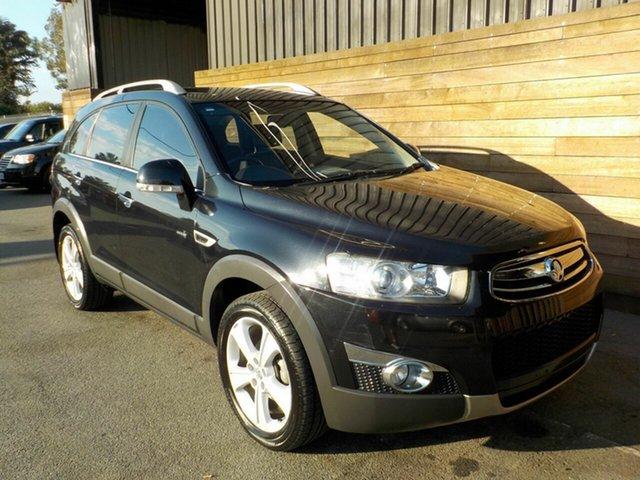 Used Holden Captiva CG Series II 7 AWD LX, 2011 Holden Captiva CG Series II 7 AWD LX Black 6 Speed Sports Automatic Wagon