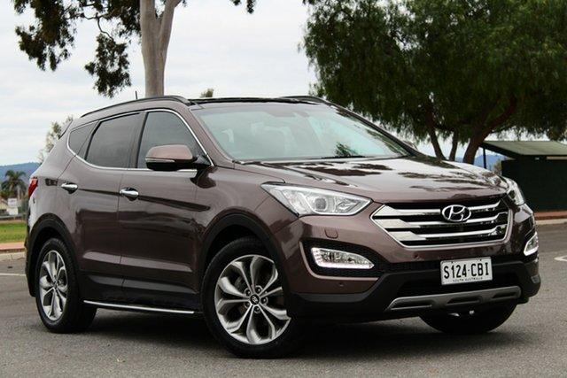 Used Hyundai Santa Fe DM2 MY15 Highlander, 2015 Hyundai Santa Fe DM2 MY15 Highlander Brown 6 Speed Sports Automatic Wagon
