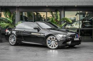 2008 BMW M3 E93 M-DCT Black 7 Speed Sports Automatic Dual Clutch Convertible.