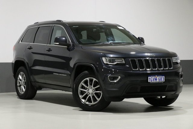 Used Jeep Grand Cherokee WK MY14 Laredo (4x2), 2014 Jeep Grand Cherokee WK MY14 Laredo (4x2) Grey 8 Speed Automatic Wagon