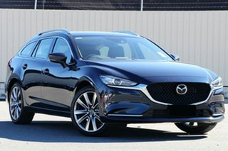 2020 Mazda 6 GL1033 GT SKYACTIV-Drive Deep Crystal Blue 6 Speed Sports Automatic Wagon.