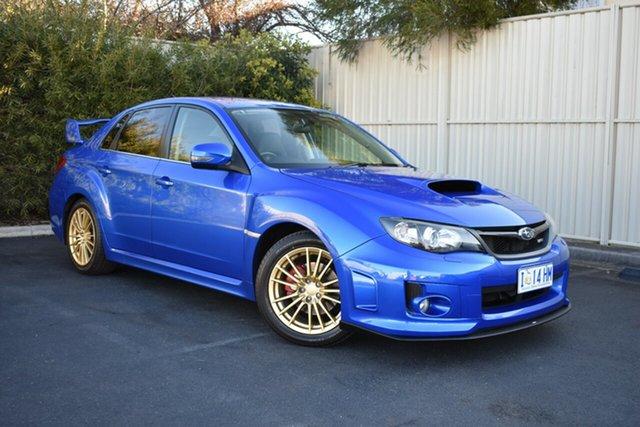 Used Subaru Impreza G3 MY14 WRX AWD RS40, 2013 Subaru Impreza G3 MY14 WRX AWD RS40 WR Blue 5 Speed Manual Sedan