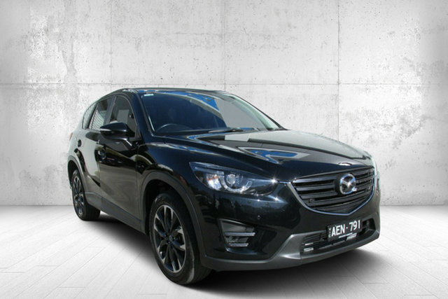 Used Mazda CX-5 KE1022 Grand Touring SKYACTIV-Drive AWD, 2015 Mazda CX-5 KE1022 Grand Touring SKYACTIV-Drive AWD Black 6 Speed Sports Automatic Wagon