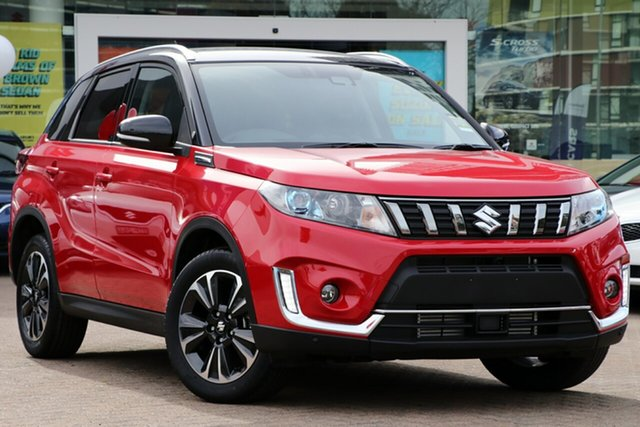 New Suzuki Vitara LY Series II Turbo 2WD, 2019 Suzuki Vitara LY Series II Turbo 2WD Red/Black 6 Speed Sports Automatic Wagon