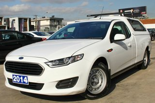 2014 Ford Falcon FG X Ute Super Cab White 6 Speed Sports Automatic Utility.