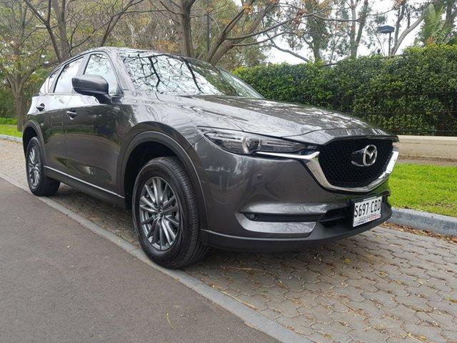 Used Mazda CX-5 KF4WLA Touring SKYACTIV-Drive i-ACTIV AWD, 2017 Mazda CX-5 KF4WLA Touring SKYACTIV-Drive i-ACTIV AWD Grey 6 Speed Sports Automatic Wagon