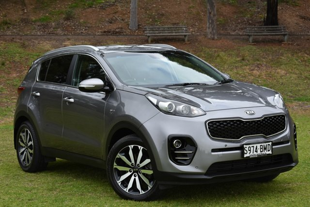 Used Kia Sportage QL MY17 SLi AWD, 2016 Kia Sportage QL MY17 SLi AWD Grey 6 Speed Sports Automatic Wagon