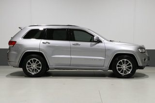 2014 Jeep Grand Cherokee WK MY14 Overland (4x4) Silver 8 Speed Automatic Wagon
