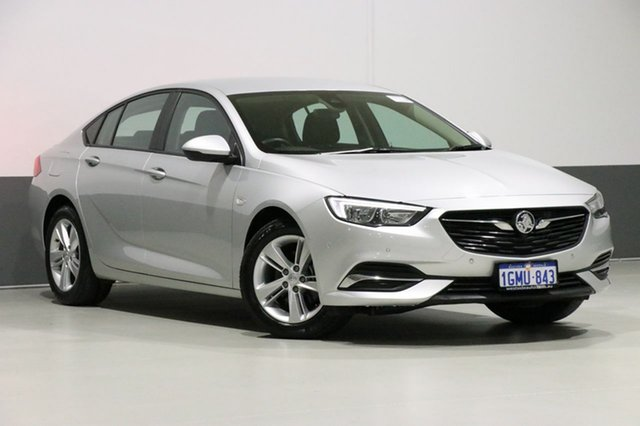 Used Holden Commodore ZB LT, 2018 Holden Commodore ZB LT Silver 9 Speed Automatic Liftback