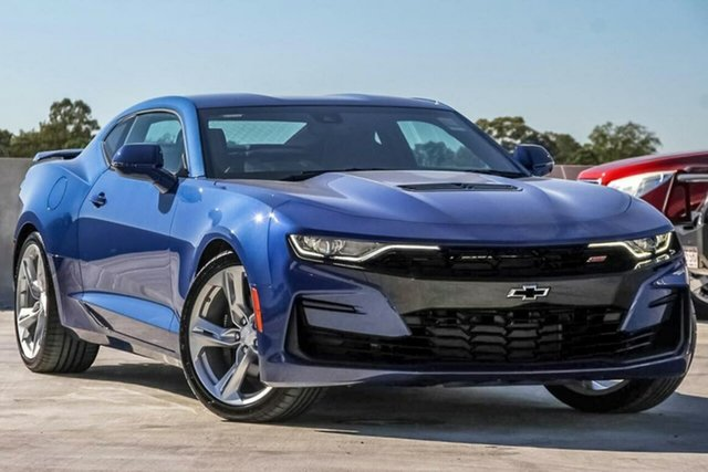 New Chevrolet Camaro MY19 2SS, 2019 Chevrolet Camaro MY19 2SS Riverside Blue 10 Speed Sports Automatic Coupe