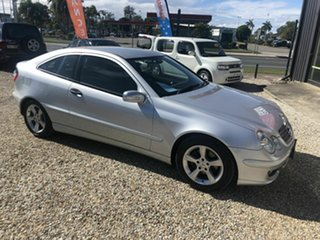 2005 Mercedes-Benz C200 Kompressor Silver 5 Speed Automatic Coupe