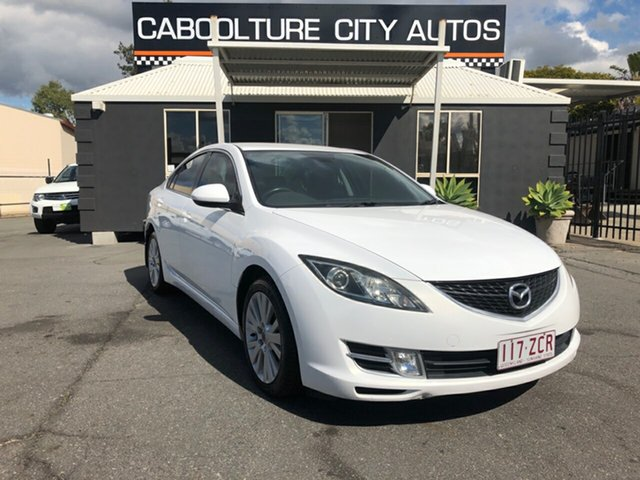Used Mazda 6 GH1051 MY09 Classic, 2009 Mazda 6 GH1051 MY09 Classic White 5 Speed Sports Automatic Sedan