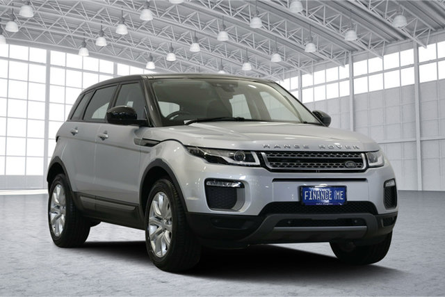 Used Land Rover Range Rover Evoque L538 MY16 TD4 150 SE, 2015 Land Rover Range Rover Evoque L538 MY16 TD4 150 SE Indus Silver 9 Speed Sports Automatic Wagon