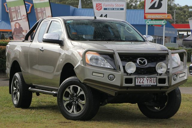 Used Mazda BT-50 UP0YF1 XTR Freestyle, 2014 Mazda BT-50 UP0YF1 XTR Freestyle Gold 6 Speed Sports Automatic Utility