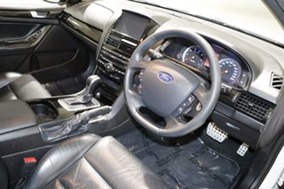 2012 Ford Falcon FG MK2 XR6 White 6 Speed Auto Seq Sportshift Utility