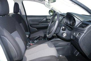 2018 Mitsubishi Triton MR MY19 GLX White 6 Speed Automatic Cab Chassis.