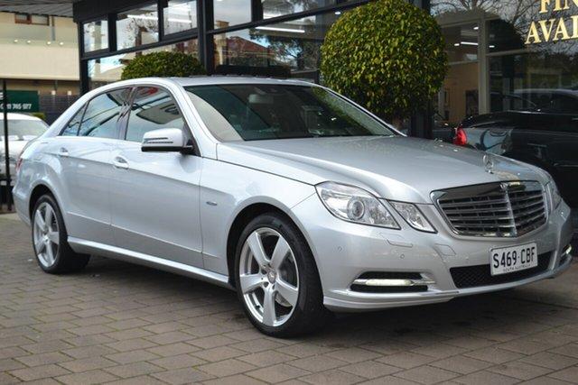 Used Mercedes-Benz E-Class W212 E250 CDI BlueEFFICIENCY Elegance, 2010 Mercedes-Benz E-Class W212 E250 CDI BlueEFFICIENCY Elegance Iridium Silver 5 Speed