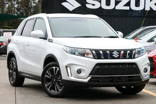 New Suzuki Vitara LY Series II Turbo 2WD, 2019 Suzuki Vitara LY Series II Turbo 2WD White 6 Speed Sports Automatic Wagon