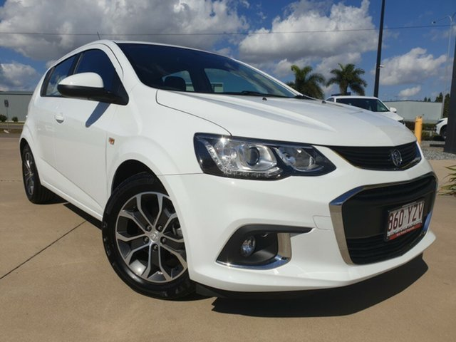 Used Holden Barina TM MY17 LS, 2017 Holden Barina TM MY17 LS White 6 Speed Automatic Hatchback